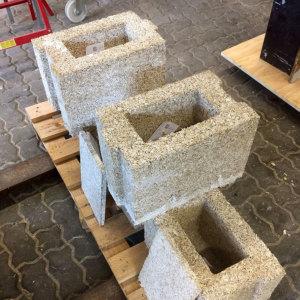 Bild Baustoffe - temporäre Bauten