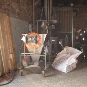 Bild Fiber processing of dry biomass